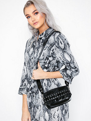 Adax svart axelväska Lacona Shoulder Bag Carmen