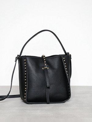 Pieces axelväska Pcpenny Bucket Bag Svart