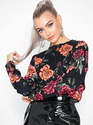 Only onlROSI L/S Top Wvn