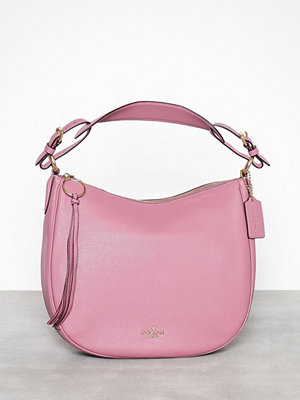 Coach Polished pebble leather sutton hobo Rose