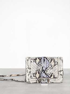 Rebecca Minkoff mönstrad axelväska Small Love Crossbody