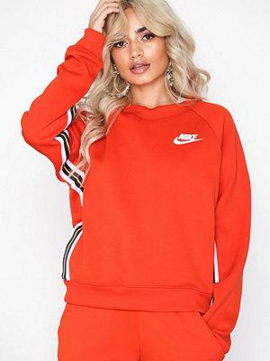 Tröjor - Nike Nsw Crew Pk Röd
