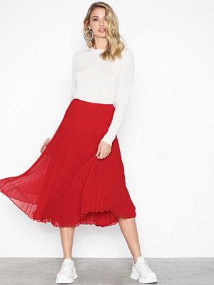 Polo Ralph Lauren Lg Lni Sk-Skirt Red