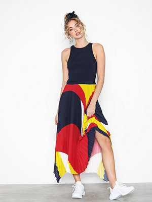 Polo Ralph Lauren Sl Alyah Dr-Sleeveless-Casual Dress Navy