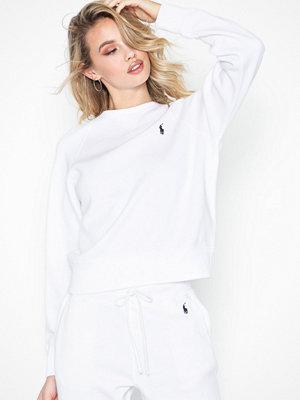 Polo Ralph Lauren Ls Ragln Po-Long Sleeve-Knit White