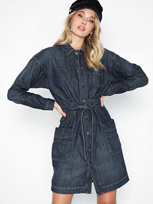Polo Ralph Lauren Dnm Ww Dr-Long Sleeve-Casual Dress