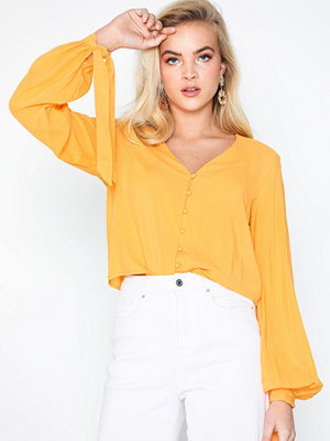 NLY Trend Front Button Blouse