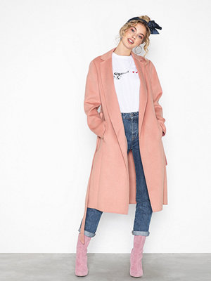 Lauren Ralph Lauren Df Wool Wrap-Wool-Coat Primrose
