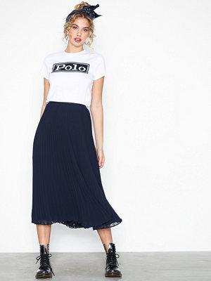 Polo Ralph Lauren Lg Lni Sk-Skirt Navy