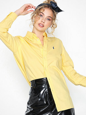 Polo Ralph Lauren Ls Rx Bd St-Relaxed-Long Sleeve-Shirt Yellow