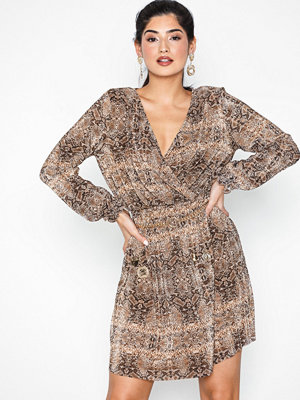 River Island Plisse Tea Dress