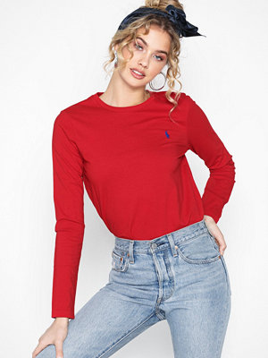 Polo Ralph Lauren Ls t W Pp-Long Sleeve-Knit Red