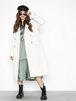 River Island Gold Button Coat