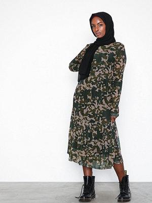 Pieces Pcamelia Ls Mesh Dress Camouflage