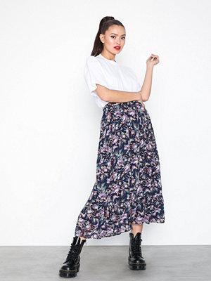 Kjolar - Object Collectors Item Objbelina Long Skirt a Div Mörk Blå