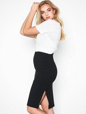 Kjolar - NLY Trend Basic Rib Midi Skirt