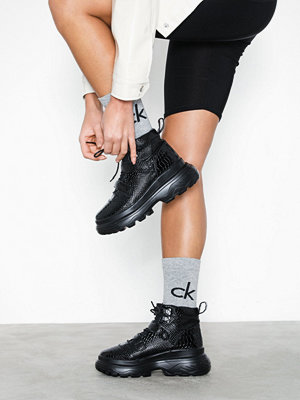 Missguided Double Sole Hiking Strap Trainer