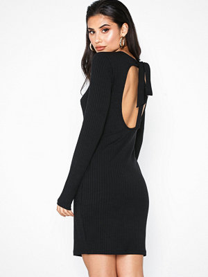 NLY Trend Open Back Bow Dress