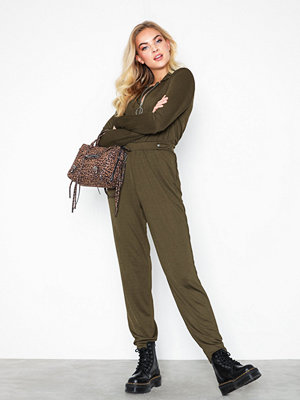 NLY Trend Jersey LS Boilersuit