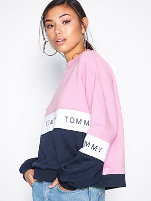 Tommy Jeans Tjw Colorblock Sweatshirt Multicolor