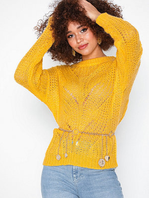 Selected Femme Slfflore Ls Knit O-Neck Ex