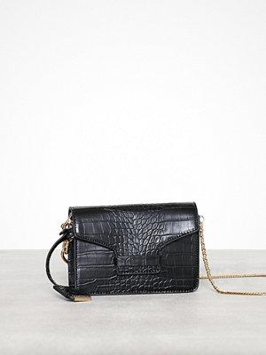 Glamorous axelväska Double Chain Bag Black