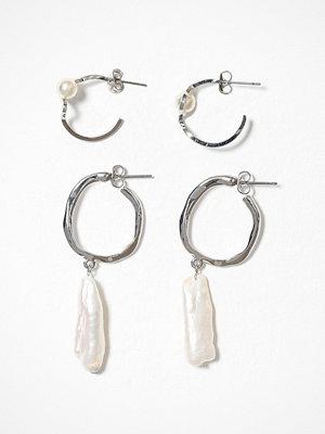Pieces örhängen Pcjenni Earring 2-Pack D2D Silver
