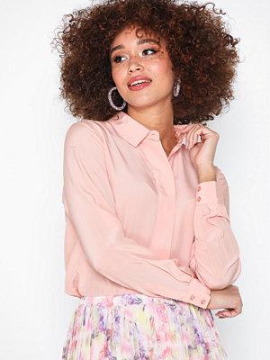 Blusar - Selected Femme Slfodette Ls Silk Shirt B
