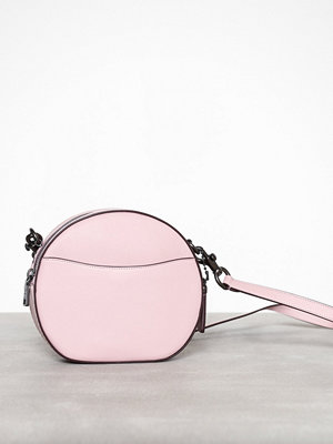 Coach omönstrad axelväska Glovetanned leather canteen crossbody Rosa