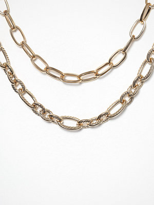 Freedom by Topshop halsband Chunk Chain Textured Choker