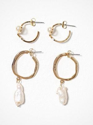 Pieces örhängen Pcjenni Earring 2-Pack D2D Guld