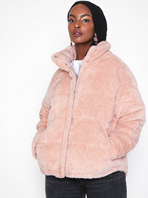 Only onlEVIE Padded Teddy Jacket Cc Otw