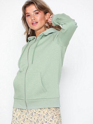 Street & luvtröjor - NLY Trend Basic Zip Hoodie