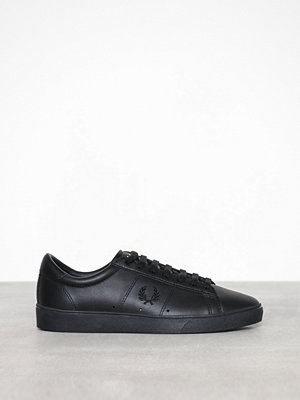 Sneakers & streetskor - Fred Perry Spencer Leather Black
