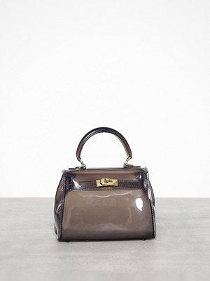 Missguided omönstrad kuvertväska Transparent Mini Handbag Transparent