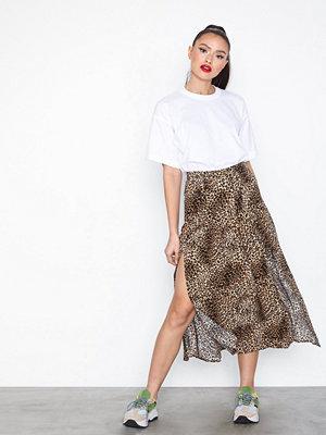 Topshop Leo Box Pleat Skirt