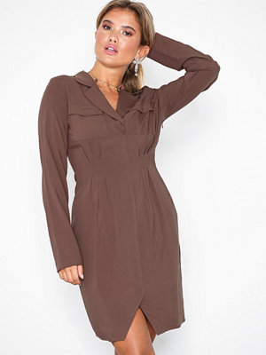NLY Trend Power Shirt Dress