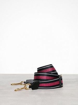 Marc Jacobs axelväska Stripe Webbing Strap Pink