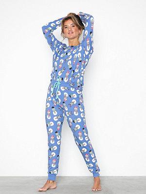 Pyjamas & myskläder - Chelsea Peers Grumpy Snowcats PJ Set