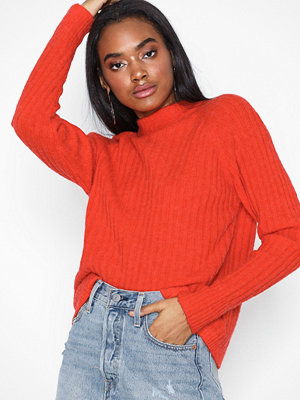 NORR Lila knit top Orange