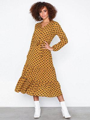 Only onlKAYA L/S Button Dress Wvn