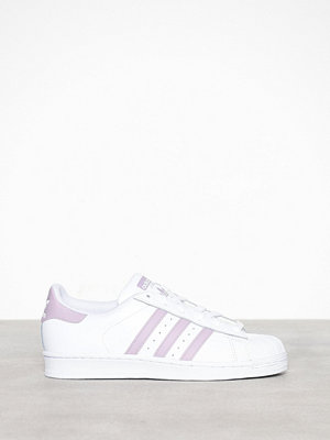Adidas Originals Superstar W Vit/Lila