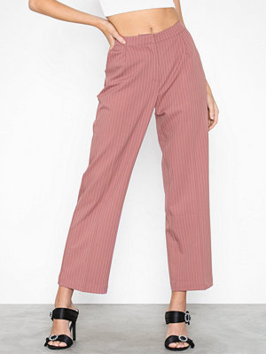 Pieces randiga byxor Pcbibi Mw Ankle Pants