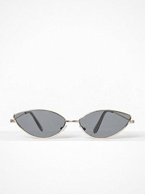 Solglasögon - NLY Accessories Slim Retro Sunglasses Svart