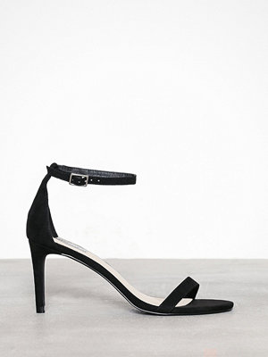 NLY Shoes Heel Sandal Svart