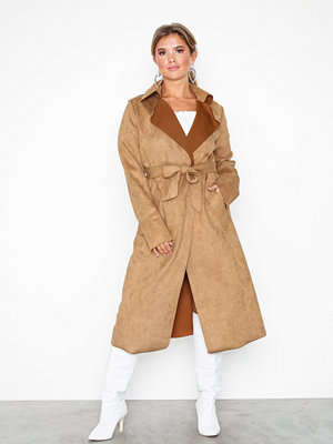 NLY Trend Wrapped Suede Coat