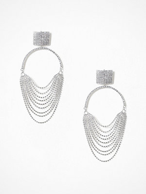 NLY Accessories örhängen Dazzling Hoop Earrings