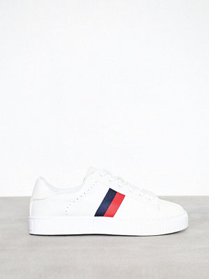 New Look PU Stripe Lace Up