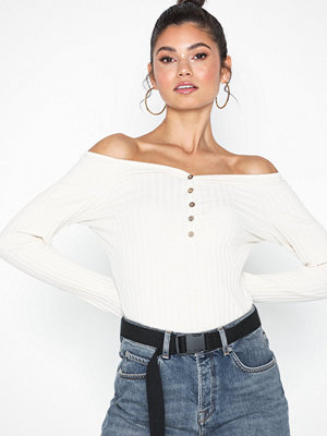 NLY Trend Sweetheart Rib Top