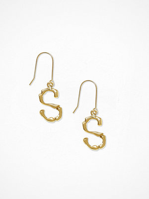 NLY Accessories örhängen Bamboo Letter Earrings S